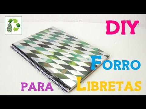 71 diy forro libretas reciclaje de papel y bolsas de for Papel para forrar puertas