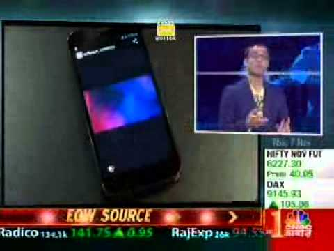 07nov13 Micromax Techguru Cnbcawaaz Canvas Turbo video