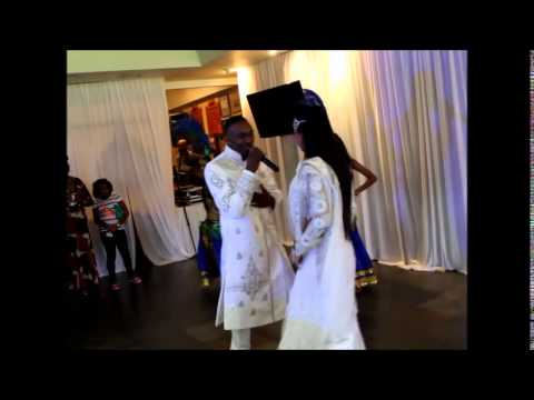 Dwayne Bravo and Nisha B performs Chalo Chalo