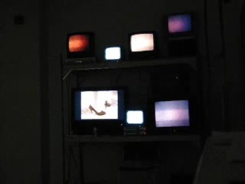 Exquisite Corpse Video Project Installation