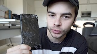 SHATTERED MY iPHONE 😤