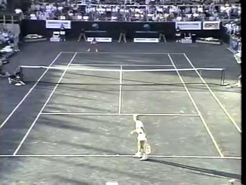 Gabriela Sabatini v Martina Navratilova Amelia Island 1989 pt2