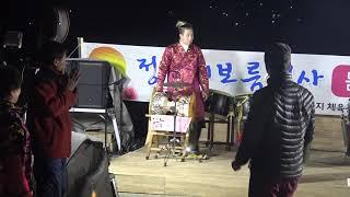 윤정품바/2019년 정월대보름추제마무리 캬바레공연 ~02/18
