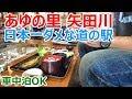 【車中泊OK】日本一ダメな道の駅「あゆの里 矢田川」で豪遊してきた
