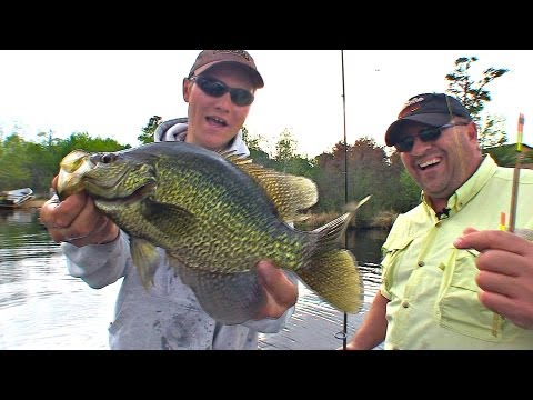Spring Fling Float Crappie - Uncut Angling - April 4, 2013