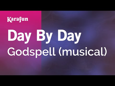 Karaoke Day By Day - Godspell *