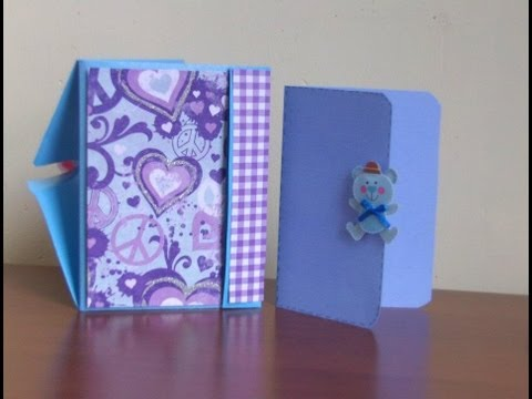 Mini Album Pocket Scrapbook