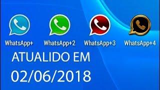 Como ter 4 whatsapp+ no mesmo celular.(14/06/2016)