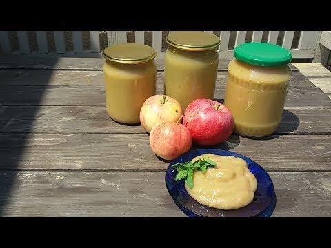 Яблочное пюре. Без сахара и консервантов.