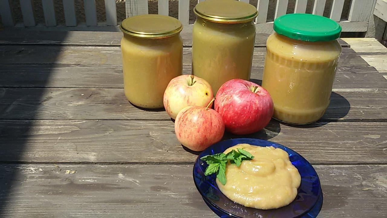 Как сделать яблочное пюре без сахара 31