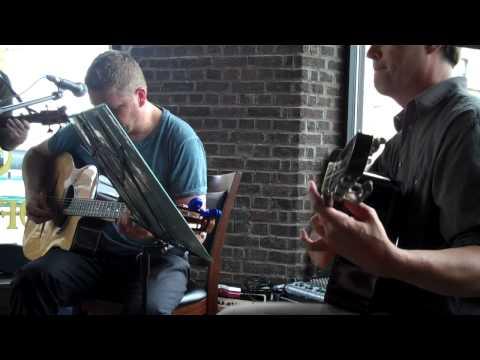 Jim Pagel Jazz Trio Gypsy Swing Warmup At The Bancroft