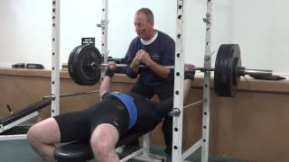 Equipped Bench Press 1 x 192 KG ( 422 LBS )