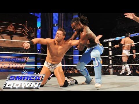 Kofi Kingston & Big E Vs. The Miz & Damien Mizdow: Smackdown, March 5, 2015 video