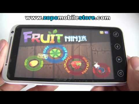 Smartphone ZOPO ZP100 Android  3G MTK6575 - Games test