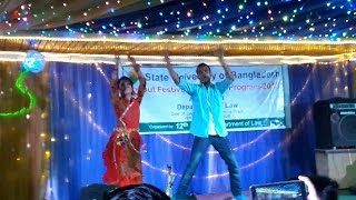 Sammi & Ooko performing (Tomake Chai Ami Aro Kache)@SUB_12_Batch_Farewell