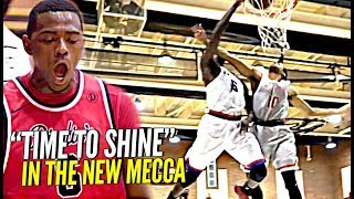 """Earning Respect in The New Mecca of Basketball 