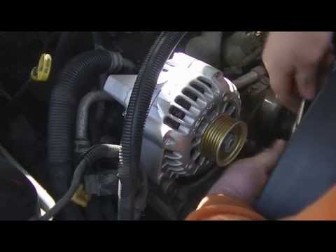 How to replace an Alternator on a Chevy Truck