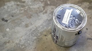 Hacks: Dispose of Paint with Kitty Litter