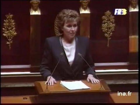 Assemblée nationale discours politique d'Edith Cresson