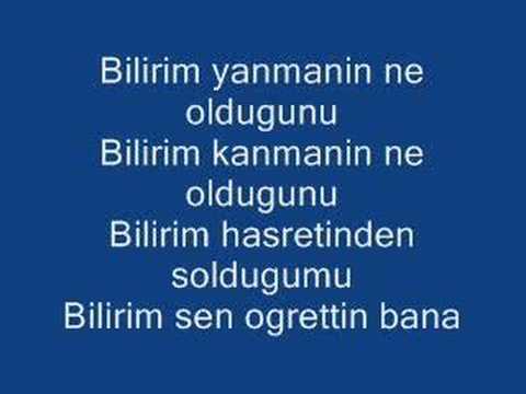 Gaye AKSU - Bilirim