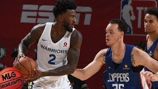Golden State Warriors vs LA Clippers Full Game Highlights / July 6 / 2018 NBA Summer League