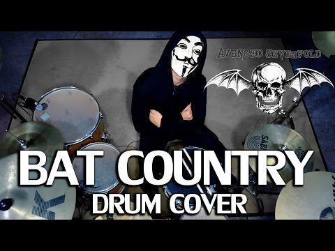 Bat Country - Avenged Sevenfold - Drum Cover by IXORA (Wayan)