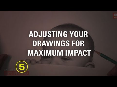 How to Review and Adjust Your Drawings For Maximum Impact!  (Portrait Drawing #8)