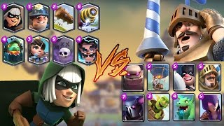 Legendaries vs Epic | Clash Royale Challenge