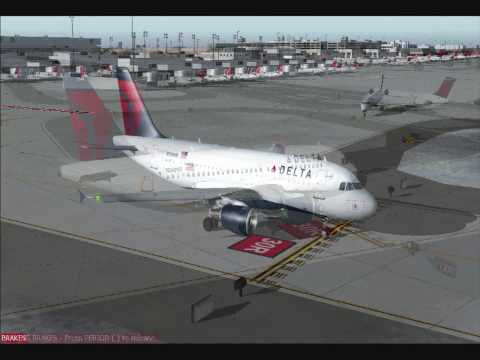 Delta Airlines A319 Minneapolis St. Paul-to-Atlanta Hartsfield
