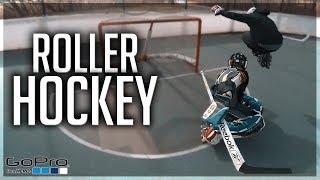 GoPro Hockey   CHILL ROLLER HOCKEY