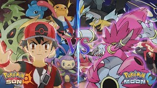 Pokemon Sun and Moon: Champion Ash Vs Hoopa Unbound (Pokemon Movie)
