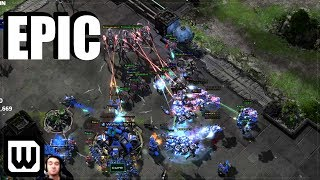Starcraft 2: Most EPIC Protoss vs Terran 2020?! (Showtime vs Cure)