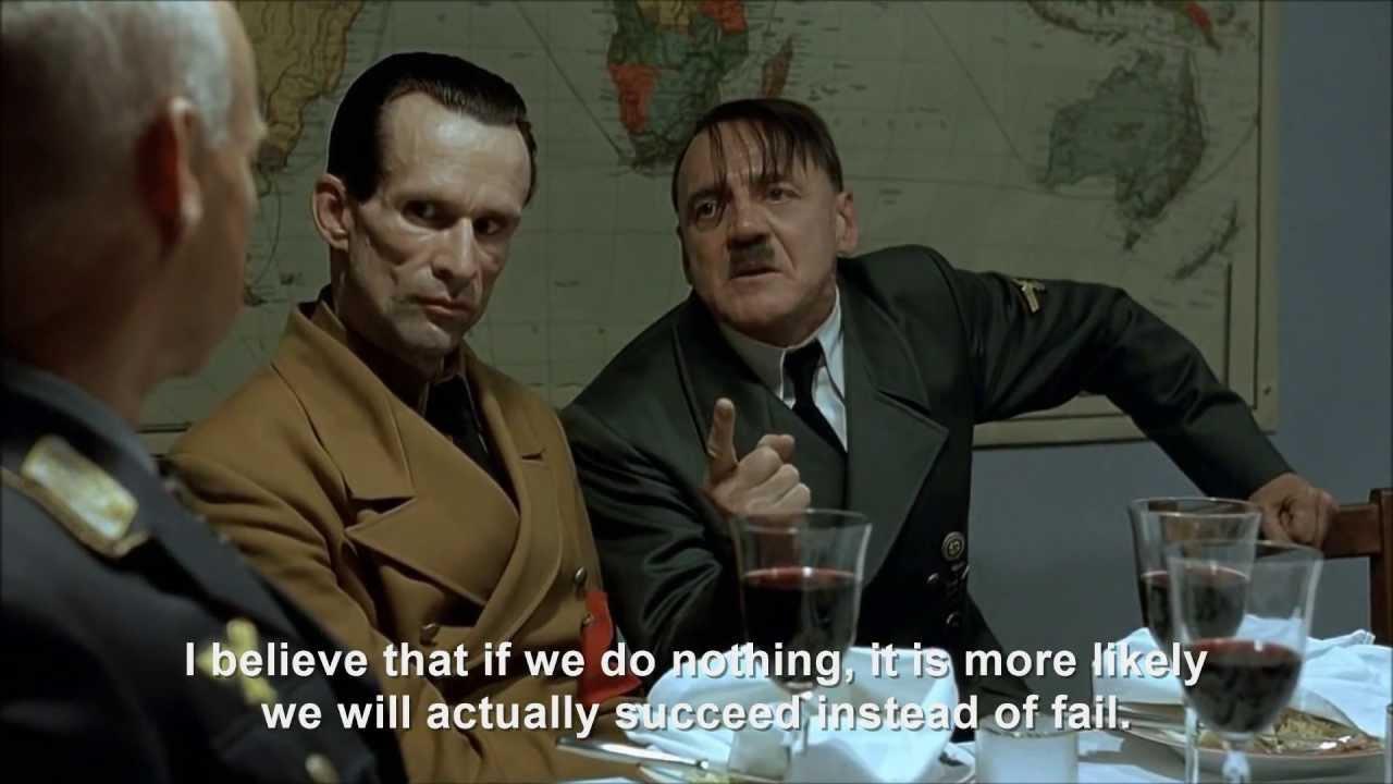 Hitler explains nothing