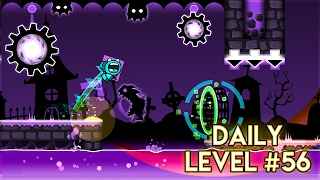 "DAILY LEVEL #56 | Geometry Dash 2.1 - ""Phantom"" by TheRealSalad 
