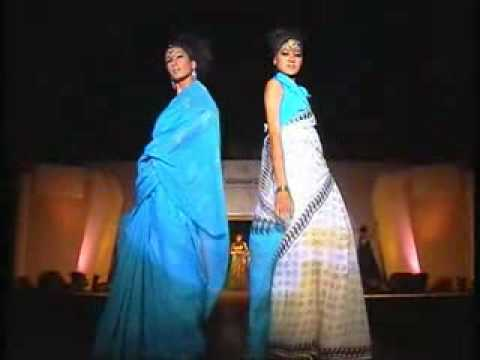 Designer Indian saree- Fashion Show