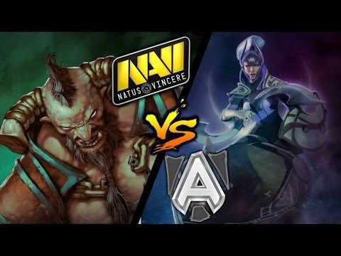 Na`Vi vs Alliance - Game 5/5 [Dota 2 Champions League Season 2] - Dota 2