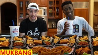 Zaxby's Mukbang After Not Eating for 2 Days