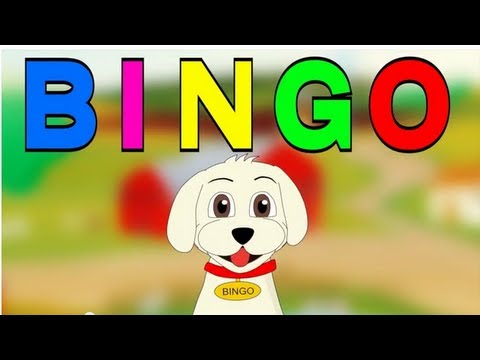 Bingo! (recorded By Patty Shukla) - Nursery Rhyme - Cartoon Animated Rhymes And Songs For Children video