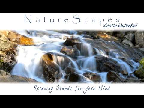 Beautiful Waterfall Sounds - 8 Hours Of Relaxing Ambient Soundscape For Tinnitus Relief & Insomnia video