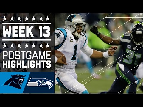 Panthers Vs Seahawks Nfl Week 13 Game Highlights