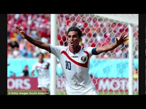 Bryan Ruiz GOAL 1-0 Costa Rica v Italy   LIVE 2014 World Cup [REVIEW]
