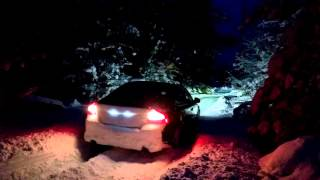 Volvo S80 V8 AWD in deep snow
