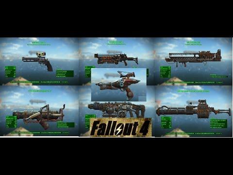 Fallout 4 ТОП 7 Редкое и Легендарное Оружие