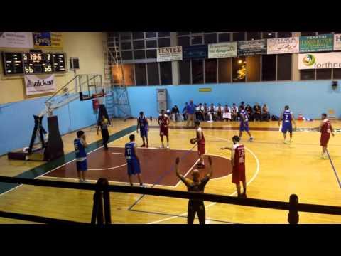 Φιλαθλητικός-Πανελευσινιακός 70-67 [01-11-2015]
