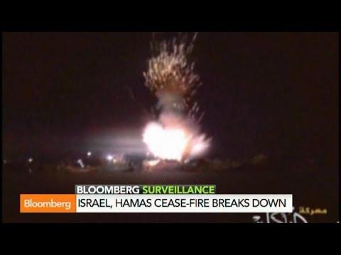 Rockets Fly as Israel, Hamas Cease-Fire Breaks Down