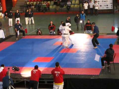 World Cup Kyokushin Karate Tournament Chile 2013 (01)Chile vs (04)Colombia Image 1