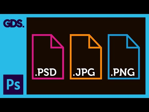 Common file types in Adobe Photoshop Ep6/33 [Adobe Photoshop for Beginners]