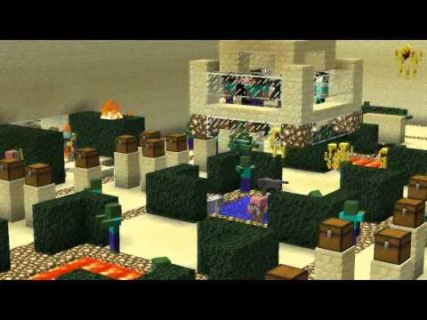 MineCraft - Бои подписчиков