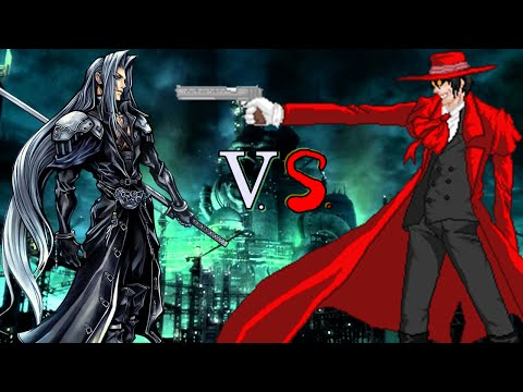 Alucard vs Sephiroth - Espaol Latino (sub english) 1080p