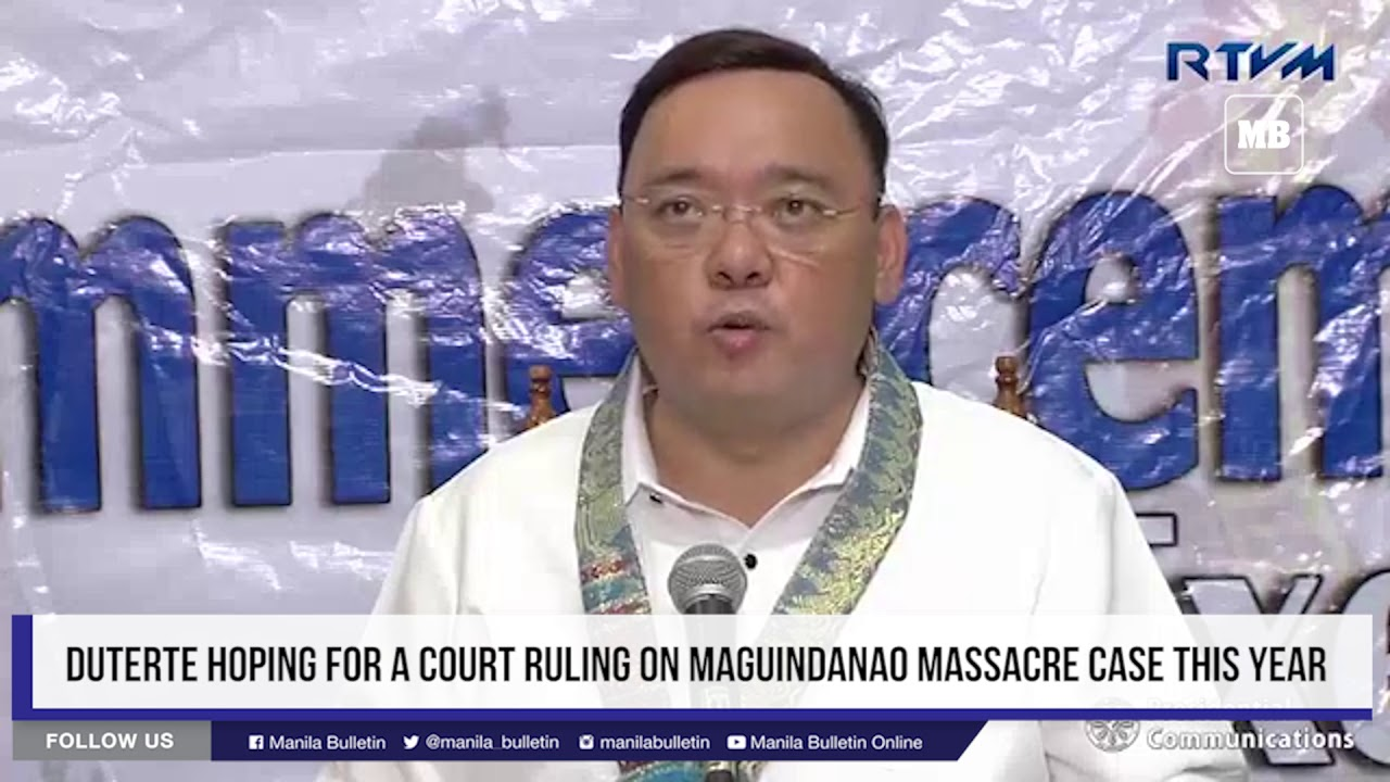 Duterte hoping for a court ruling on Maguindanao massacre case this year